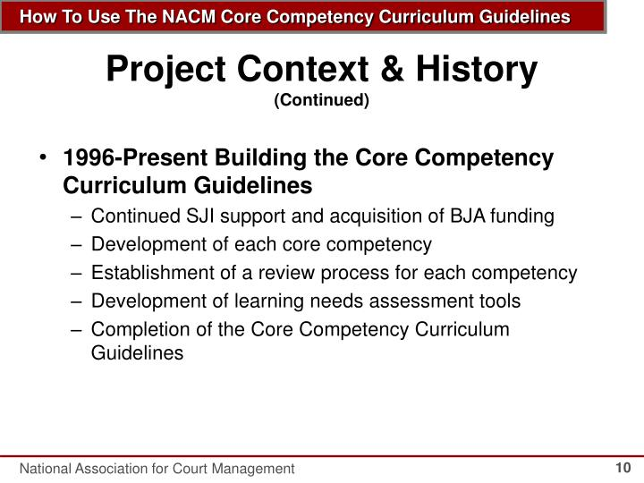 Project Context & History