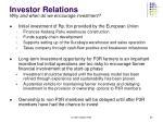 investor relations1