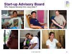 start up advisory board