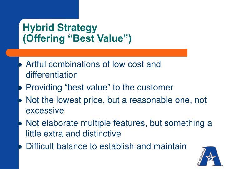 Hybrid Strategy