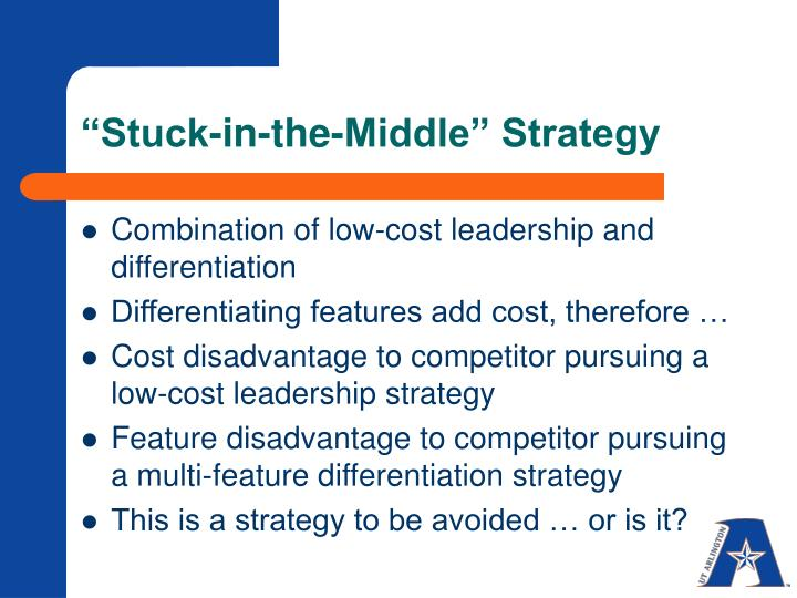 """""""Stuck-in-the-Middle"""" Strategy"""