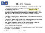 the d process