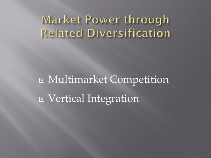 Market Power t