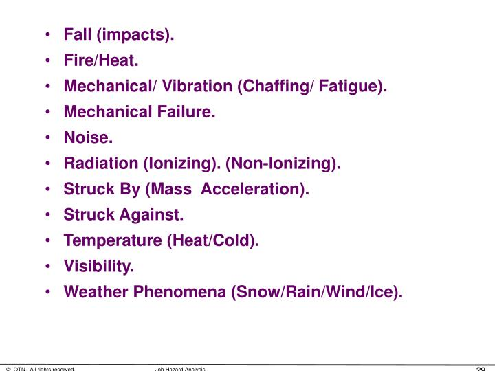 Fall (impacts).