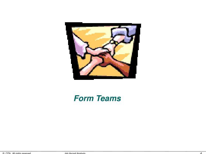 Form Teams