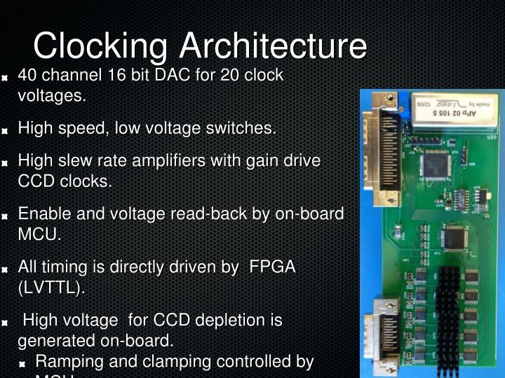 Clocking Architecture
