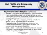 civil rights and emergency management3