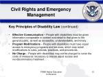 civil rights and emergency management4