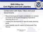 dhs office for civil rights and civil liberties4
