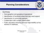 planning considerations10