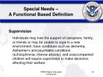 special needs a functional based definition2