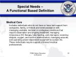 special needs a functional based definition3
