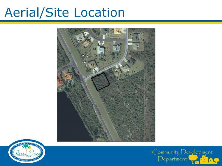 Aerial site location