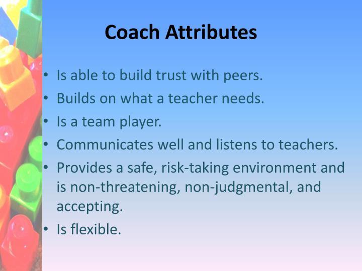 Coach Attributes