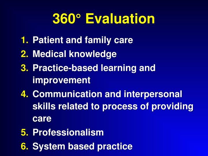 360° Evaluation