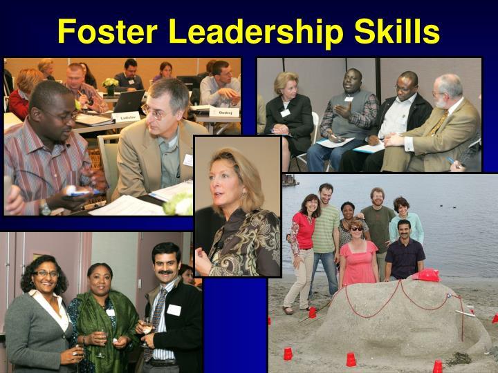 Foster Leadership Skills