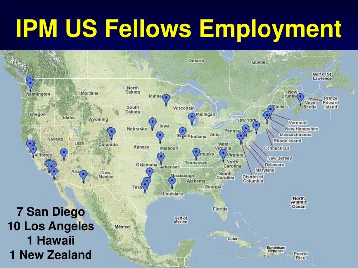IPM US Fellows Employment
