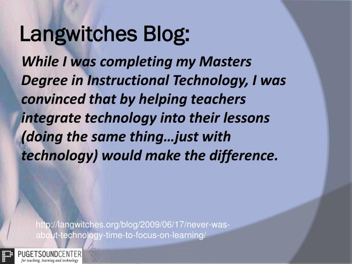 Langwitches Blog: