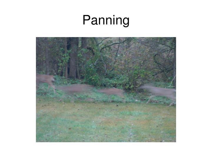 Panning