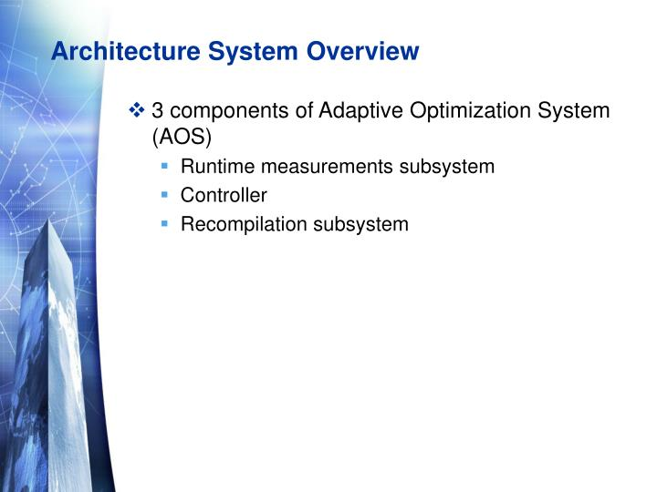 Architecture System Overview