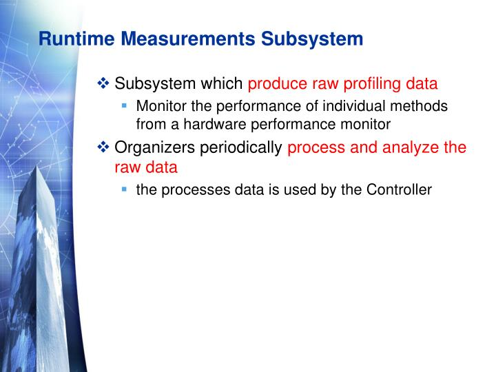 Runtime Measurements Subsystem