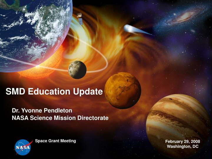 smd education update n.