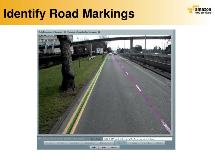 Identify Road Markings