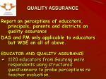 quality assurance1