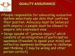 quality assurance13