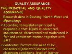 quality assurance17