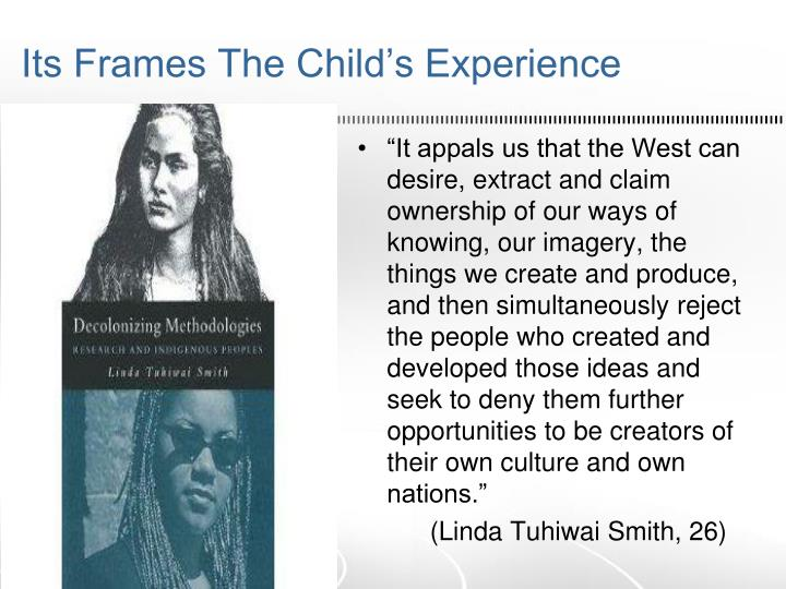 Its Frames The Child's Experience