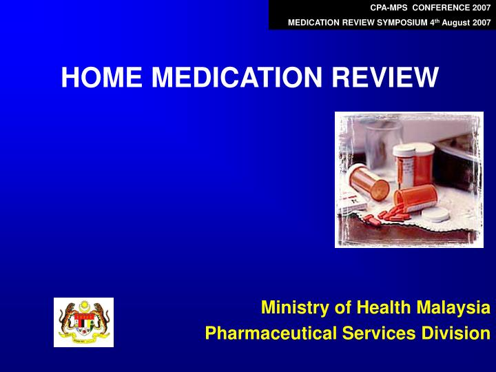 home medication review n.