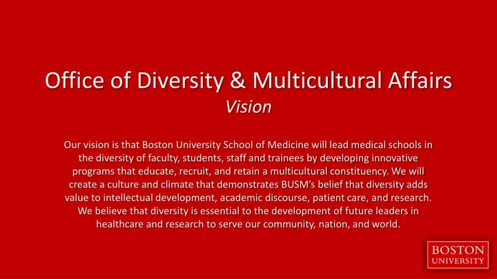 Office of Diversity & Multicultural Affairs