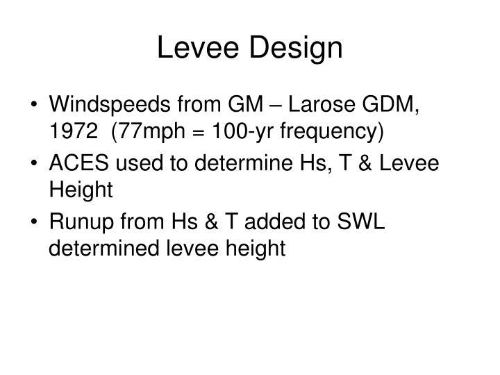 Levee Design