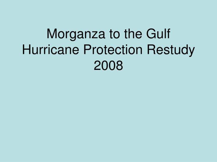 Morganza to the Gulf