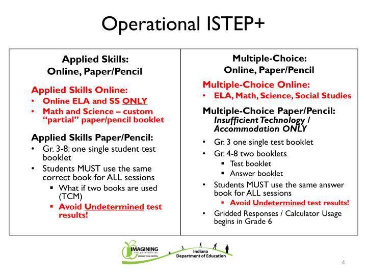 Applied Skills: