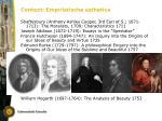 context empiristische esthetica