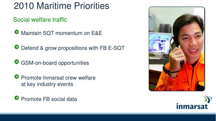2010 Maritime Priorities