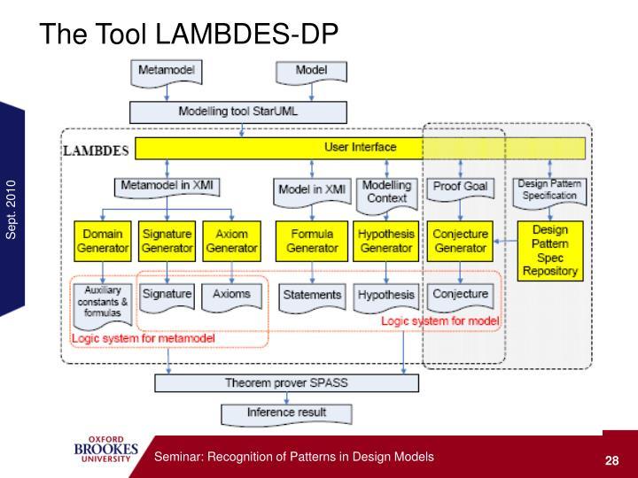 The Tool LAMBDES-DP