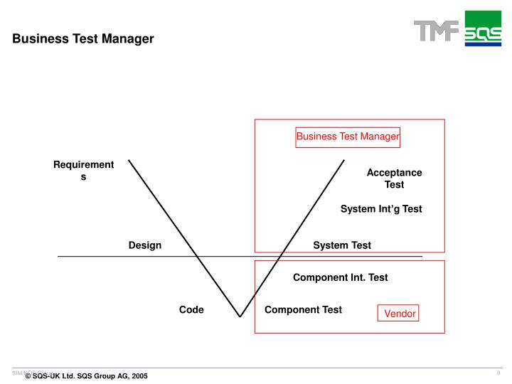 Business Test Manager