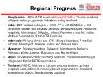 regional progress
