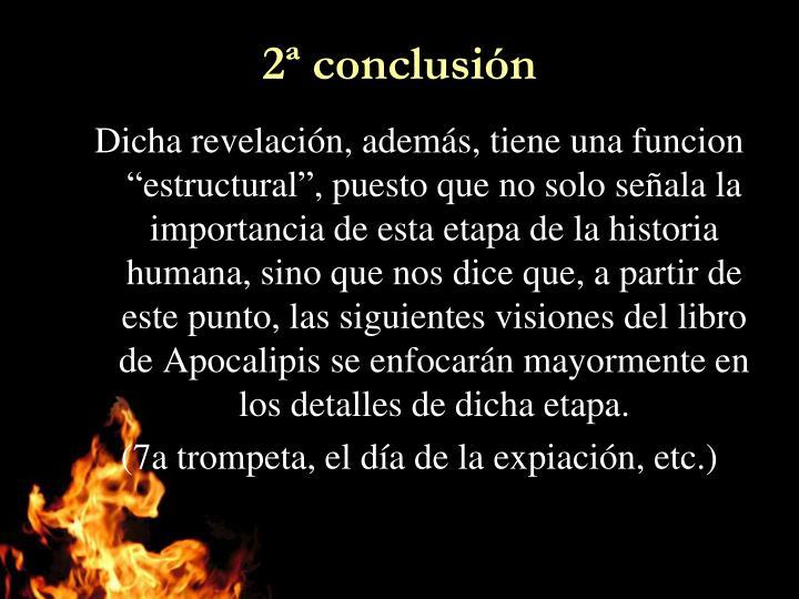 2ª conclusión