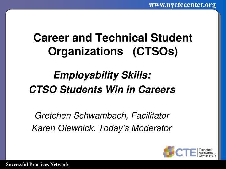 career and technical student organizations ctsos n.