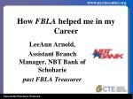 how fbla helped me in my career