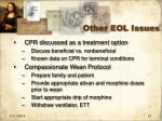 other eol issues1