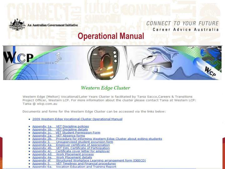 Operational Manual