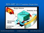 eds grt ld 3 container inspection