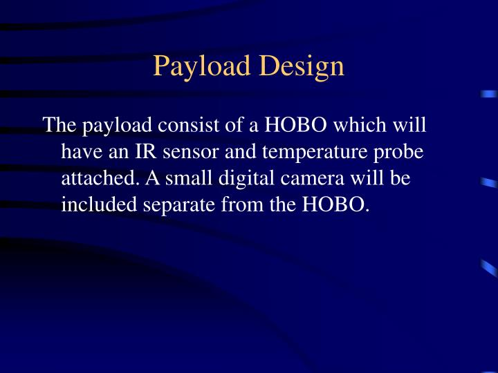 Payload design
