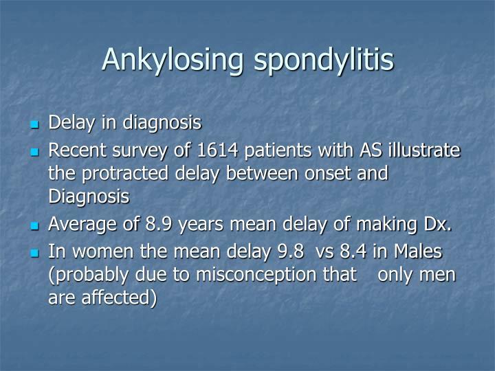 Ankylosing spondylitis1