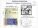 material property engineering
